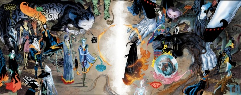 sandman four-page-spread