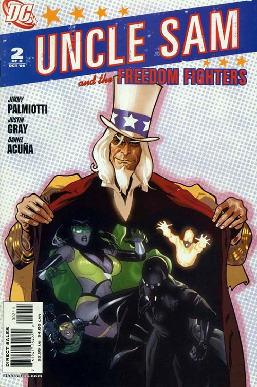 Uncle Sam And The Freedom Fighters 02