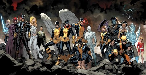 new x-men 1-3 cover