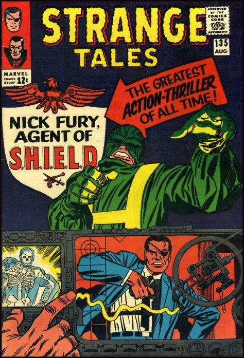 NIck Fury by Jack Kirby