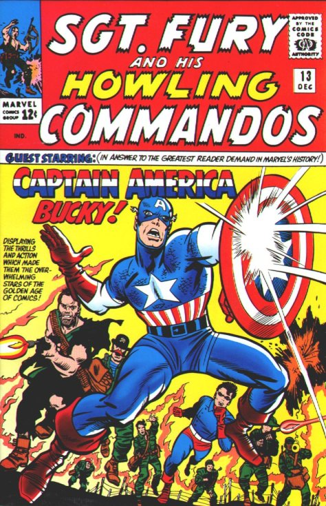 NIck Fury Howling Commandos