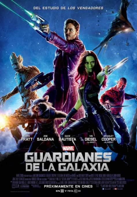 Guardianes de la galaxis poster