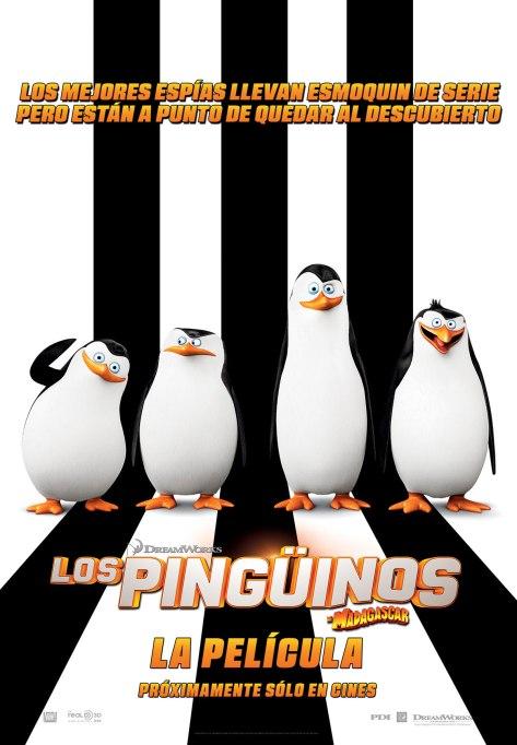 pinguinos poster español