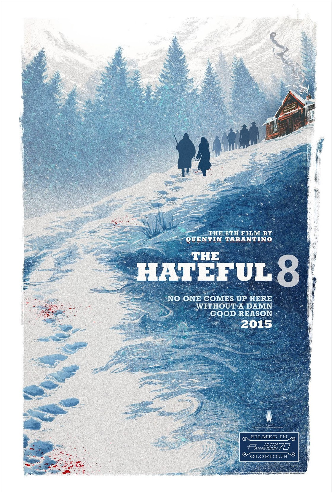 Poster pelicula The Hateful Eight
