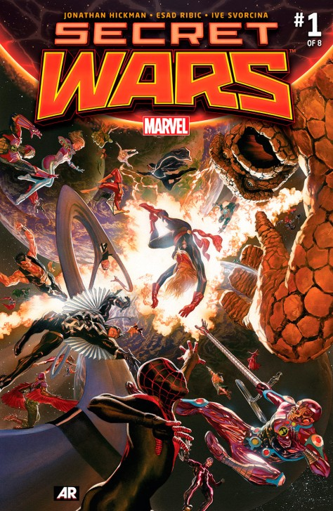 secret wars 1 alex ross