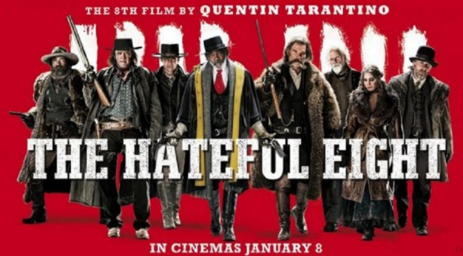 The hateful eight, la 8ª película de Quentin Tarantino