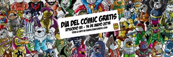 Ya está aquí el Día del Comic Gratis 2016
