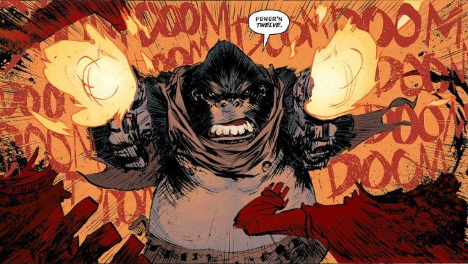 Six-Gun Gorilla, mucho más que un western distópico