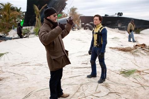 james-mcavoy-and-matthew-vaughn-in-x-men--first-class-(2011)