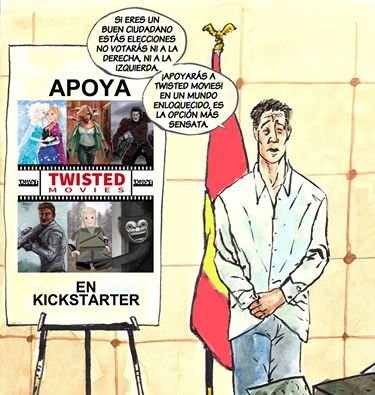 Twisted Movies - Anuncio - Vota twist