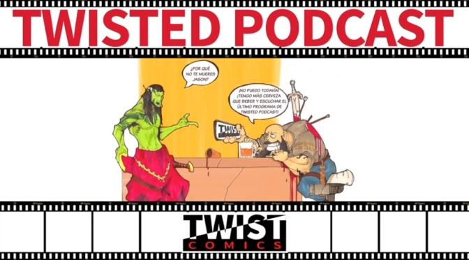 Twisted Podcast Episodio 9 – Jason Aaron