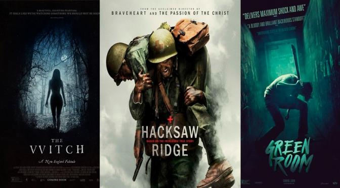 Reseñas Express: Hacksaw Ridge, La Bruja y Green Room