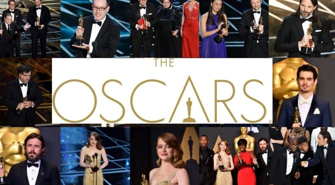 Ganadores de los Oscars 2017