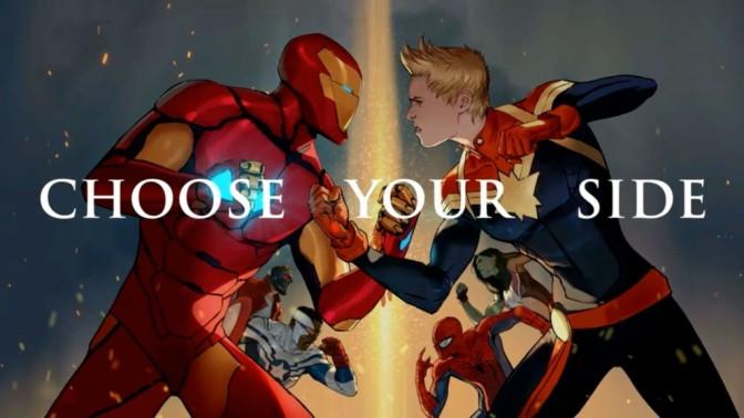 Civil War II de Marvel – En caída libre