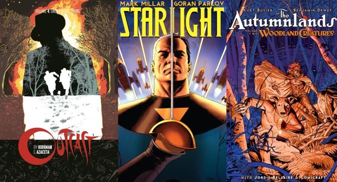 Reseñas Express: Starlight, Autumnlands V.2 y Outcast V.4