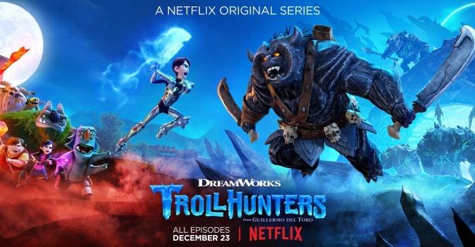 Trollhunters Temporada 1, de Guillermo Del Toro