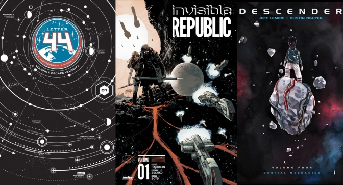 Reseñas Express: Letter 44, Invisible Republic y Descender Vol. 4