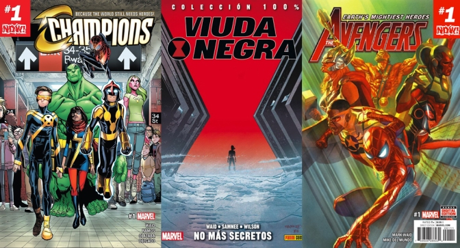 Reseñas Express: Mark Waid en Marvel