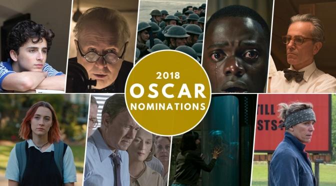 Mi quiniela para los Oscars 2018