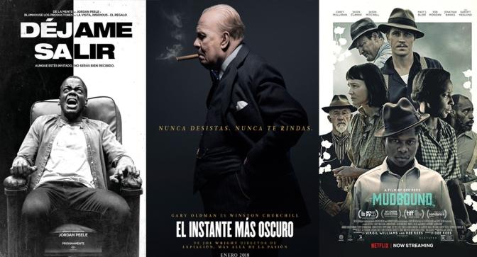 Reseñas Express Oscars: Déjame Salir, El instante más Oscuro y Mudbound