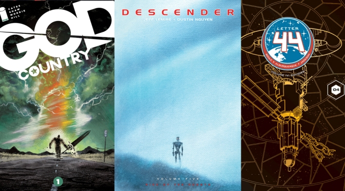 Reseñas Express: God Country, Descender vol. 5 y Letter 44 vol 4
