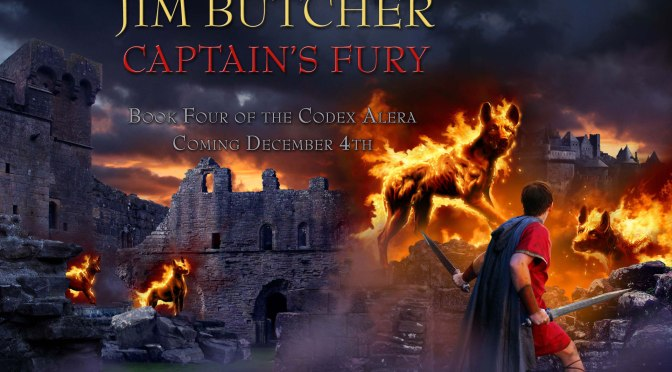 Crítica de Captain´s Fury de Jim Butcher (Codex Alera IV)
