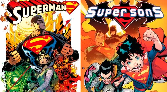 Superman + Superhijos de Peter Tomasi, diversión familiar con el Hombre de Acero