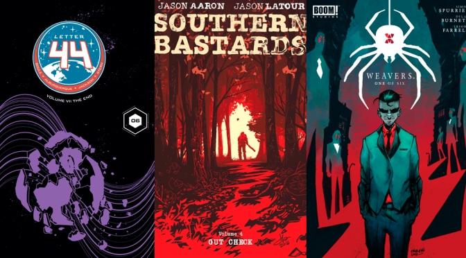Reseñas Express: Southern Bastards vol. 4, Letter 44 vol. 6 y Weavers