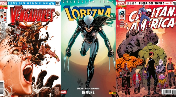 Reseñas Express Marvel: Vengadores sin rendición, Lobezna vol. 4 y Capitán América: Fuera del tiempo