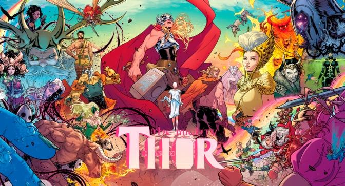 La muerte de Thor, de Jason Aaron y Russell Dauterman