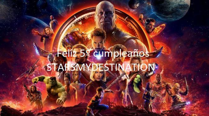 Starsmydestination cumple 5 años – 2018 y el futuro