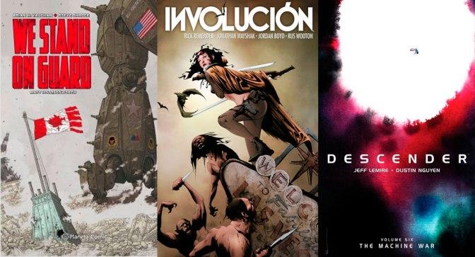 Reseñas Express: We stand on guard, Involucion y Descender vol. 6