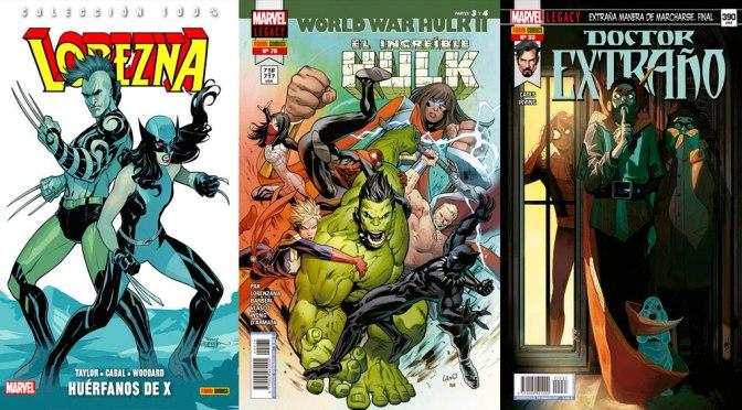 Reseñas Express Marvel: Lobezna vol. 5, Hulk 75 y Doctor Extraño 33