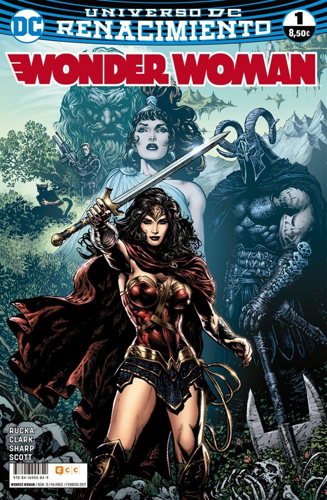 Wonder Woman 1-7 de Greg Rucka, Nicola Scott y Liam Sharp (Rebirth)