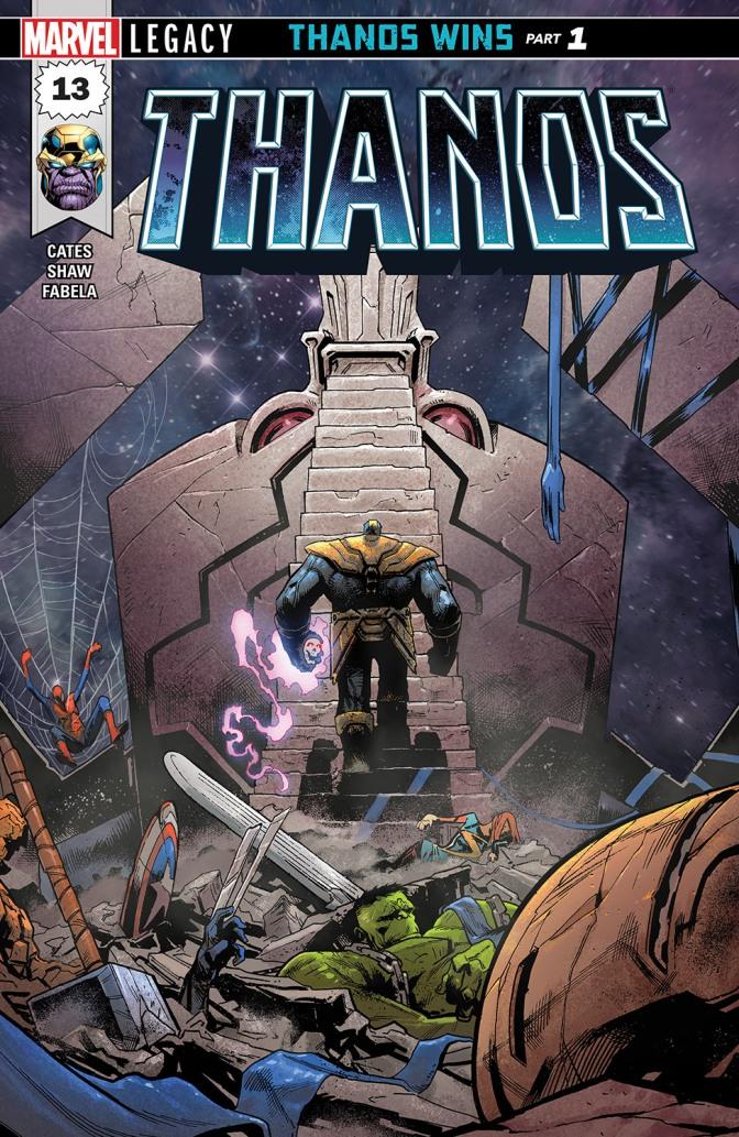 Crítica de Thanos vence, de Donny Cates y Geoff Shaw