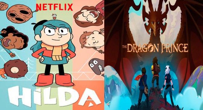 Crítica de Hilda y El príncipe dragón temporadas 1 (Netflix)