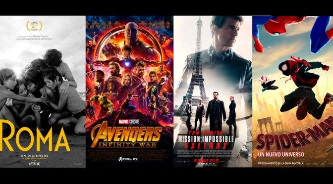 Resumen del 2018 Lo mejor del año en cine