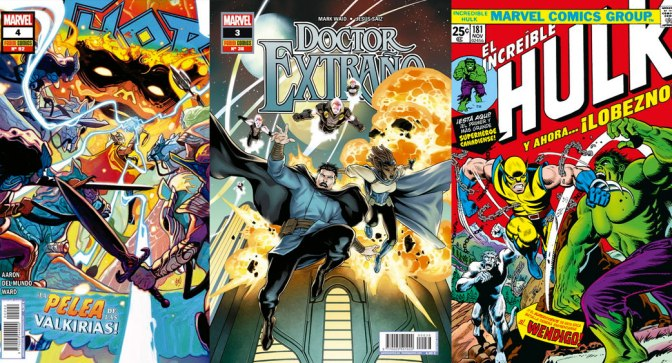 Reseñas Express Marvel: Thor 4, Doctor Extraño 3 y Marvel Facsimil: Incredible Hulk 181