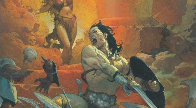 Conan vuelva a Marvel con Jason Aaron, Mahmud Asrar y Esad Ribic