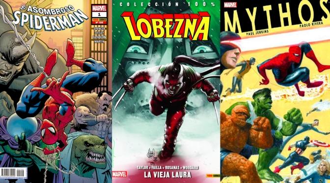 Reseñas Express Marvel: Spiderman 1, Lobezna 6, Mitos HC