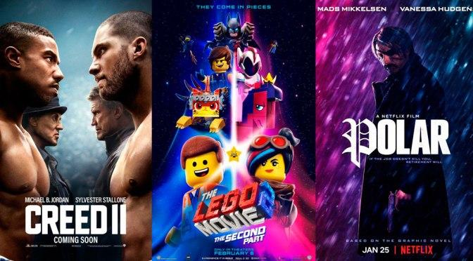Reseñas Express: Creed II, La Lego Película 2 y Polar