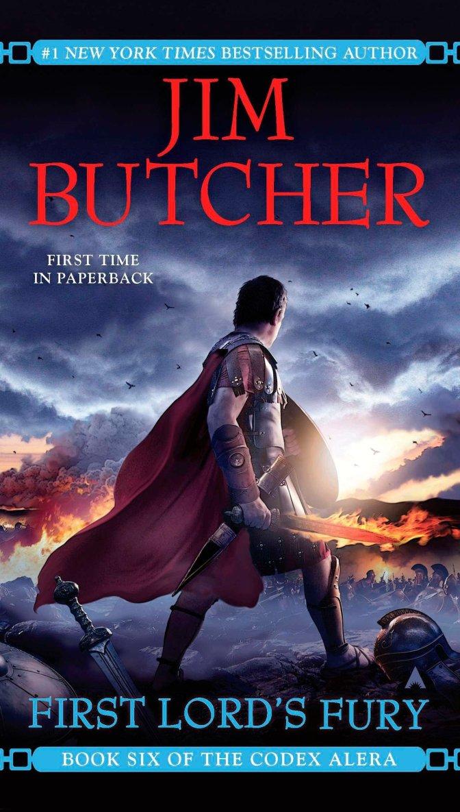 Crítica de First Lord´s Fury de Jim Butcher (Codex Alera 6)