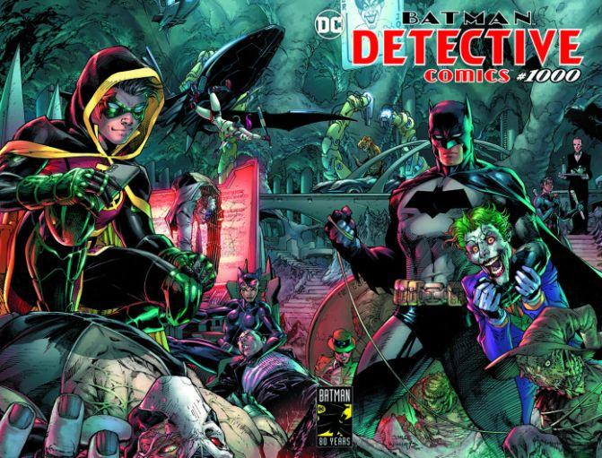 Detective Comics 1000 – Feliz 80 cumpleaños, Batman
