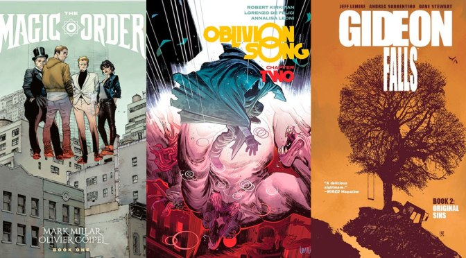 Reseñas Express Image: The Magic Order, Oblivion Song vol. 2 y Gideon Falls vol. 2