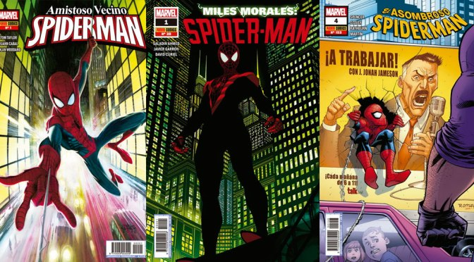 Reseñas Express: Las múltiples vidas de Spider-man en Marvel