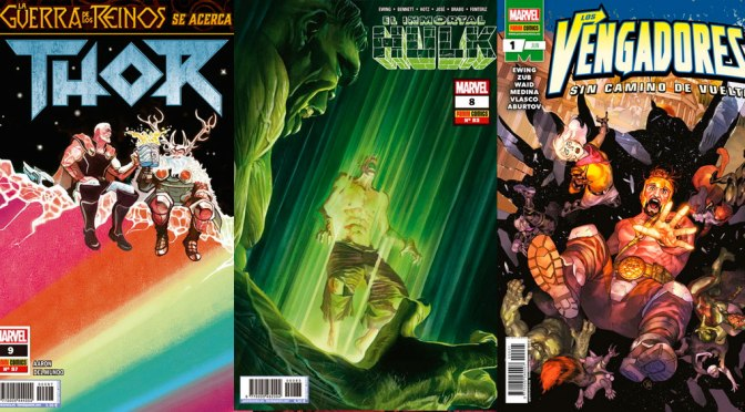Reseñas Express Marvel: El Inmortal Hulk 8, Thor 9 y Vengadores: Sin camino de vuelta 1