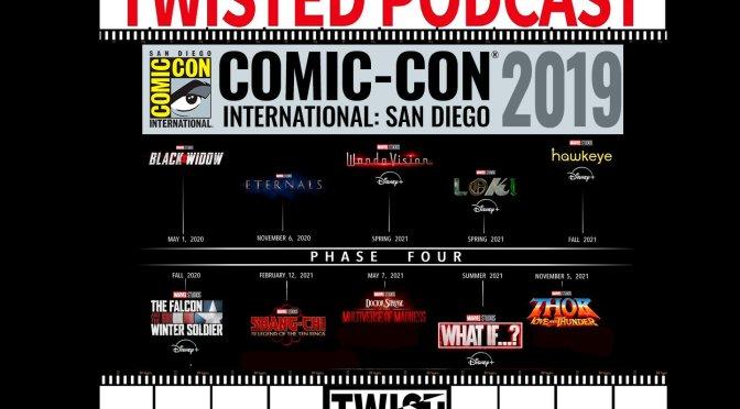 Twisted Podcast: Análisis de la Fase 4 de Marvel Studios anunciada en la SDCC 2019