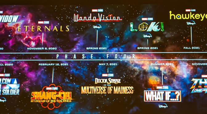 Marvel Studios anuncia su Fase 4 y otras noticias de la SDCC 2019