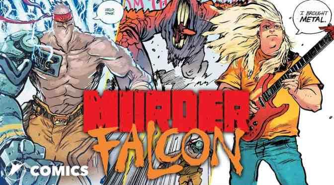 Crítica de Murder Falcon, de Daniel Warren Johnson