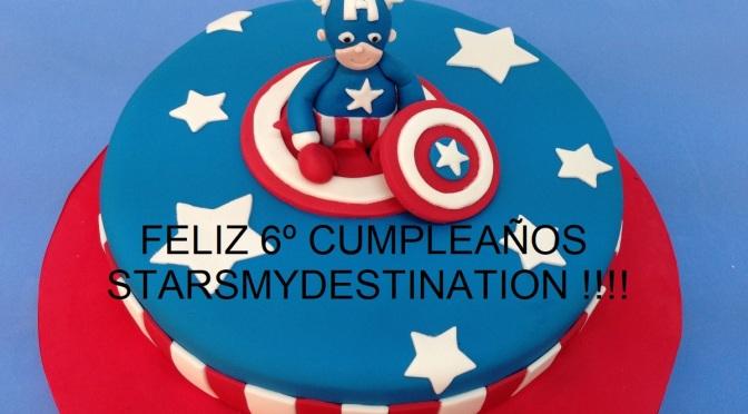 Feliz sexto cumpleaños, Starsmydestination